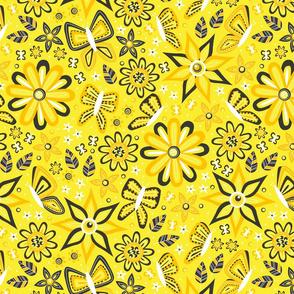 Butterfly Garden (Yellow)