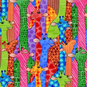 Hippie Giraffes