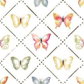 Butterfly Garden in Fall