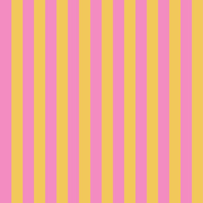 JP26 - Yellow and Pink basic stripe
