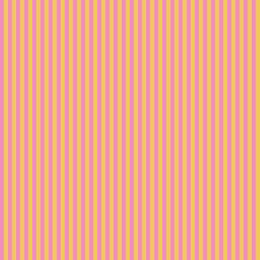 JP26 - Narrow Basic Stripes in Yellow and Pink