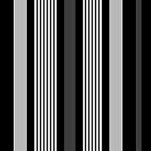Classic Stripe Black