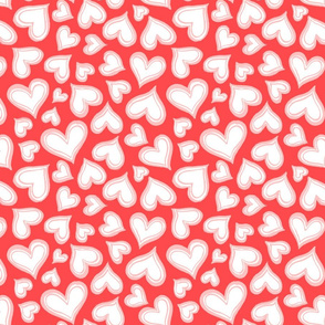 Valentine-love-hearts-red-pink-Large