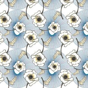 Line-work Poppy   Background