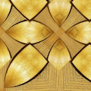 golden shield petals