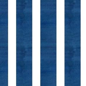 Indigo White Stripe