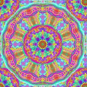 bright doily pattern