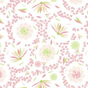Pastel Flower Circle