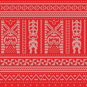 Tiki Knit 1a