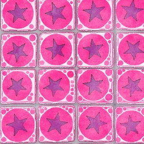 Starry Circle Squares