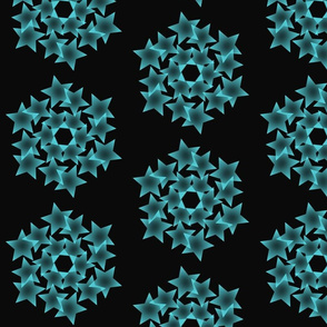Bue stars abstract