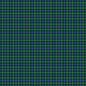 "Mackenzie / Seaforth Highlander tartan, 1"", modern colors (twill lines)"