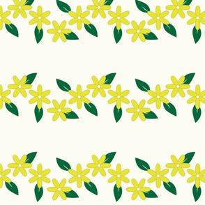 yellow flower border2