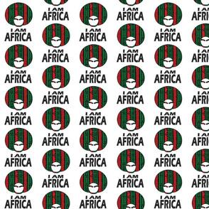 I AM AFRICA / WOMAN/ BLACK