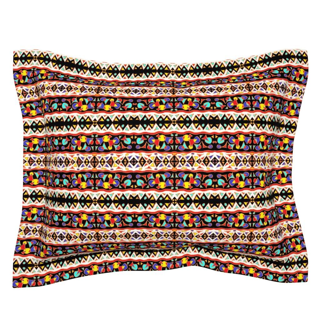 Sebright Pillow Sham featuring  Mchana 7  by tabasamu_design