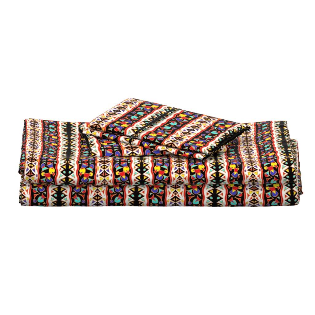 Langshan Full Bed Set featuring  Mchana 7  by tabasamu_design
