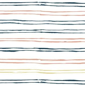 rustic thin colorful stripes