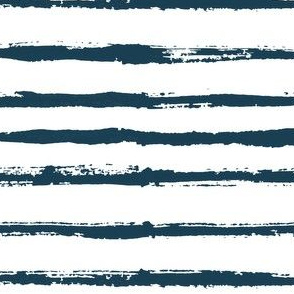 Rustic blue stripes