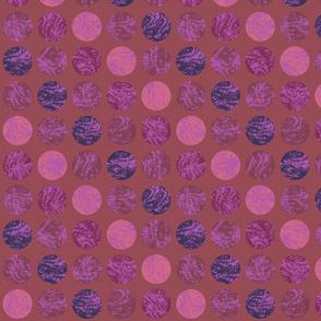 Texture Circles soft colors