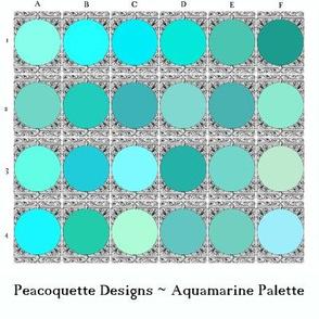 Peacoquette Palette ~ Aquamarine Selection