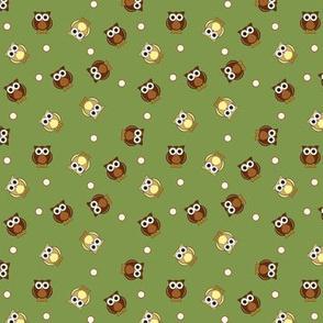 Ditsy Owls