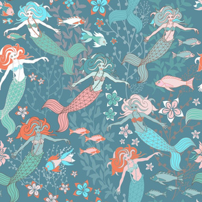 mermaid ocean