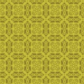 Soft Bronze Batik Squares