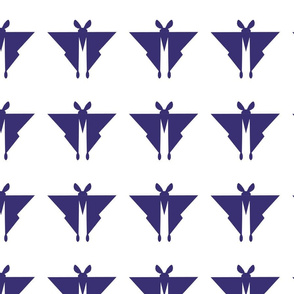 geometric moth purple