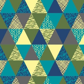 Triangles in Surf