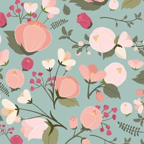 Victoria Pink Small Mint