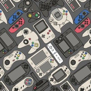 Video Game Controllers in True Colors