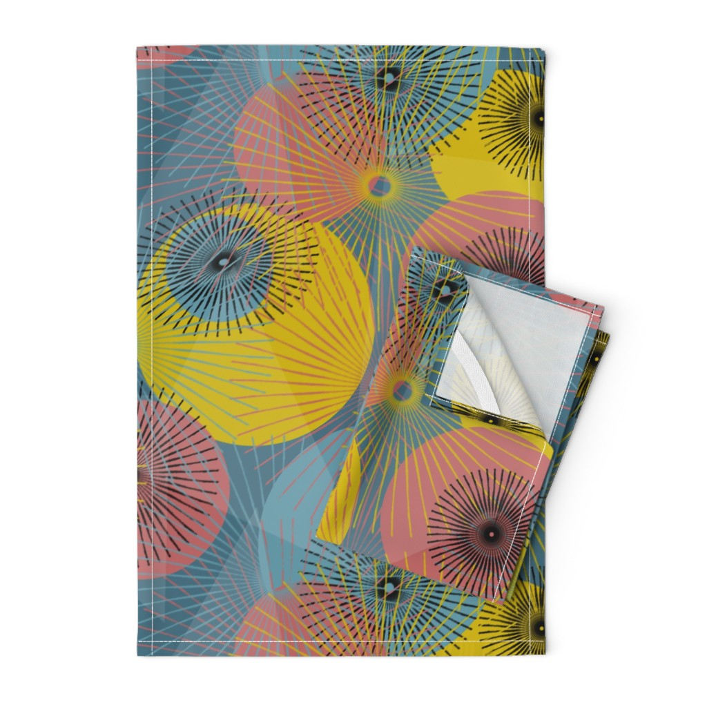 Orpington Tea Towels featuring Inner Sparkles  by mirimo_design
