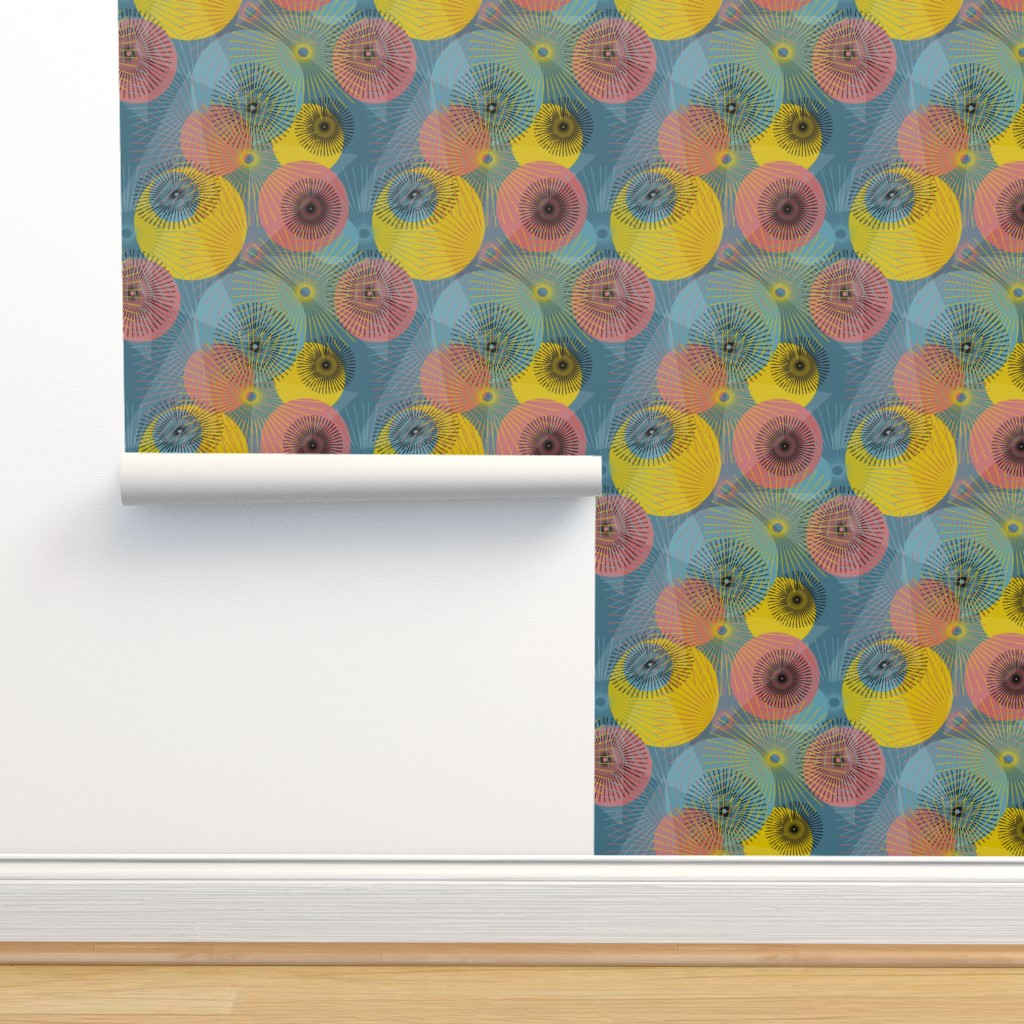 Isobar Durable Wallpaper featuring Inner Sparkles  by mirimo_design