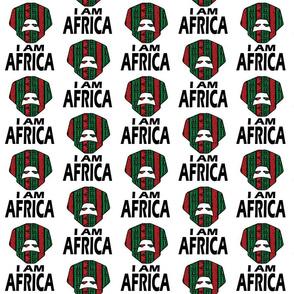 I AM AFRICA / MAN ON WHITE