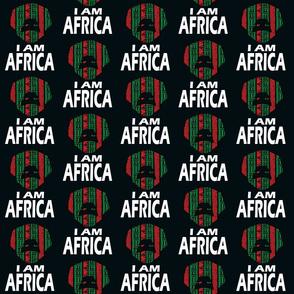 I AM AFRICA / MAN ON BLACK
