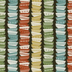 Vintage Pyrex colors