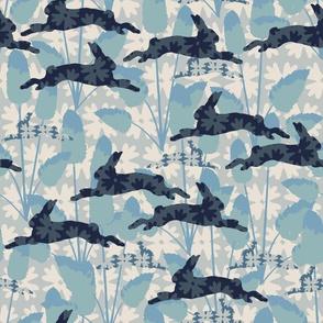 Bunnytails BLUE
