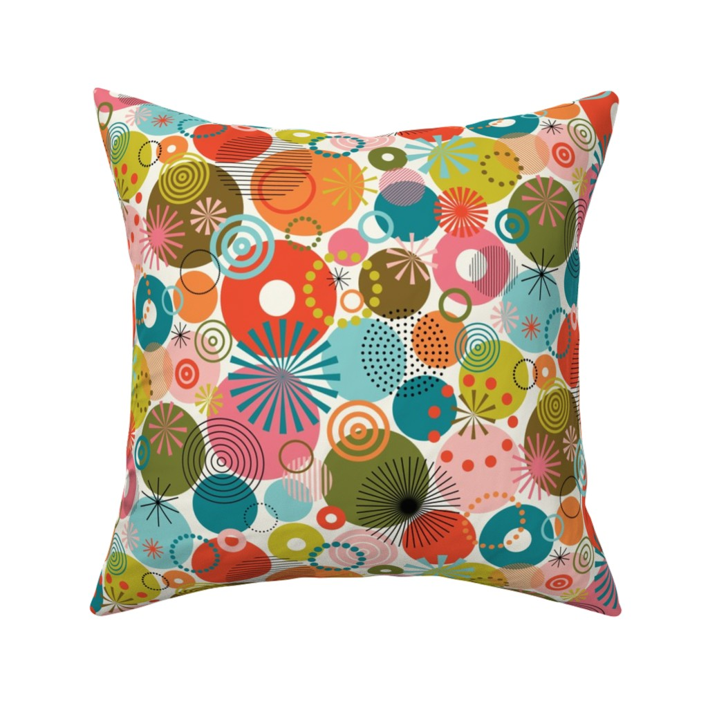 Catalan Throw Pillow featuring Surprise Party! by katerhees