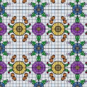 Tiled Garden #1