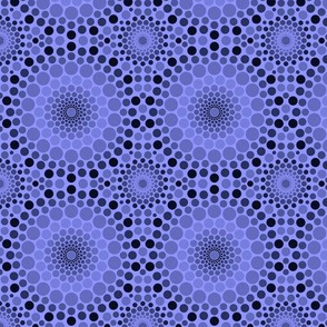 Totally Circular | blue violet ombre