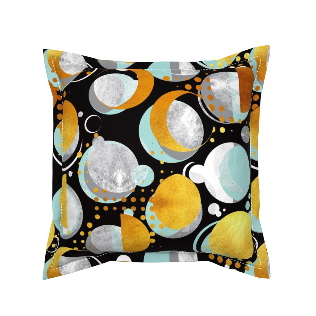 Serama Throw Pillow featuring Moon light  by selmacardoso