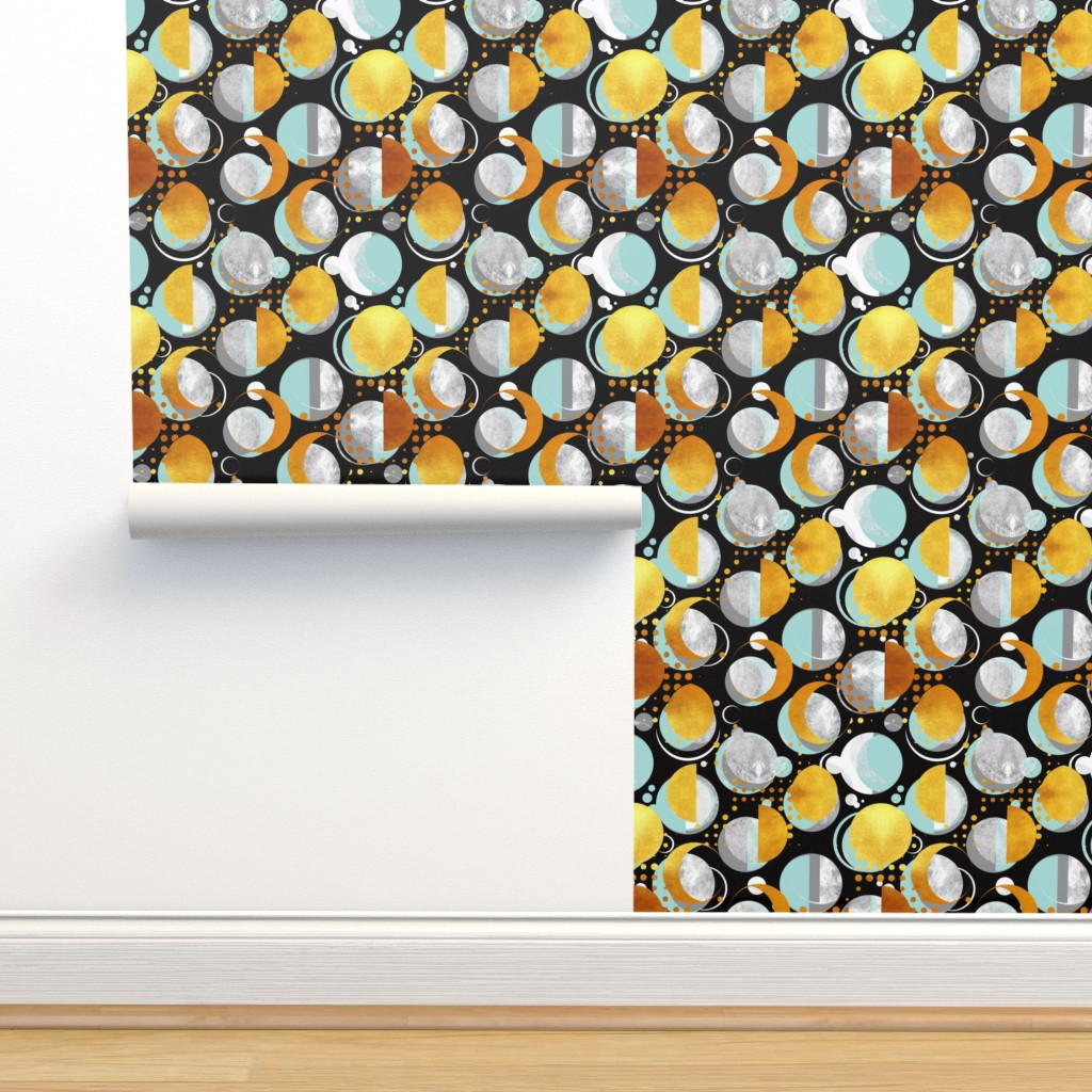 Isobar Durable Wallpaper featuring Moon light  by selmacardoso