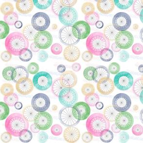 Watercolor Wheels