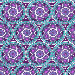 Paisley circles