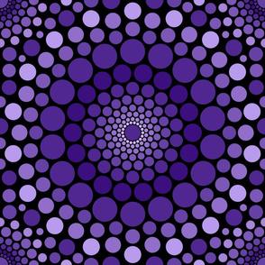 Totally Circular | purple ombre