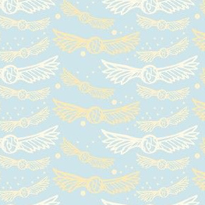 Golden Wings, Sky Blue