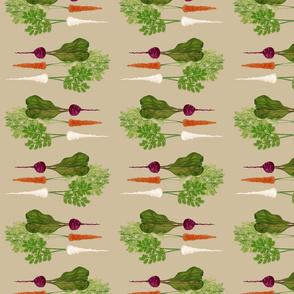 Beet Carrot Parsnip Bunch