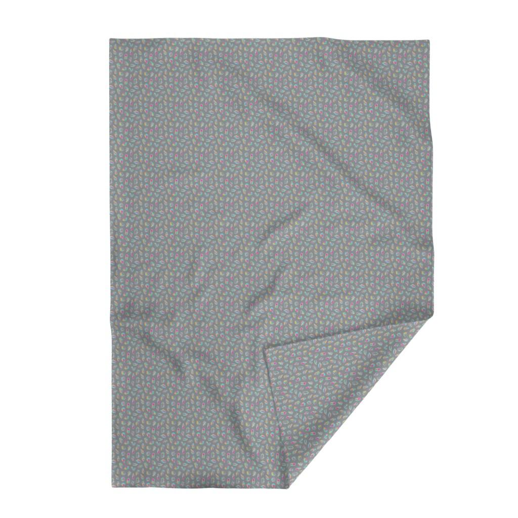 Lakenvelder Throw Blanket featuring Simple Crystals by miranema