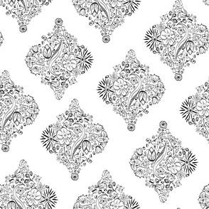 Vertical Flowerly Tiles