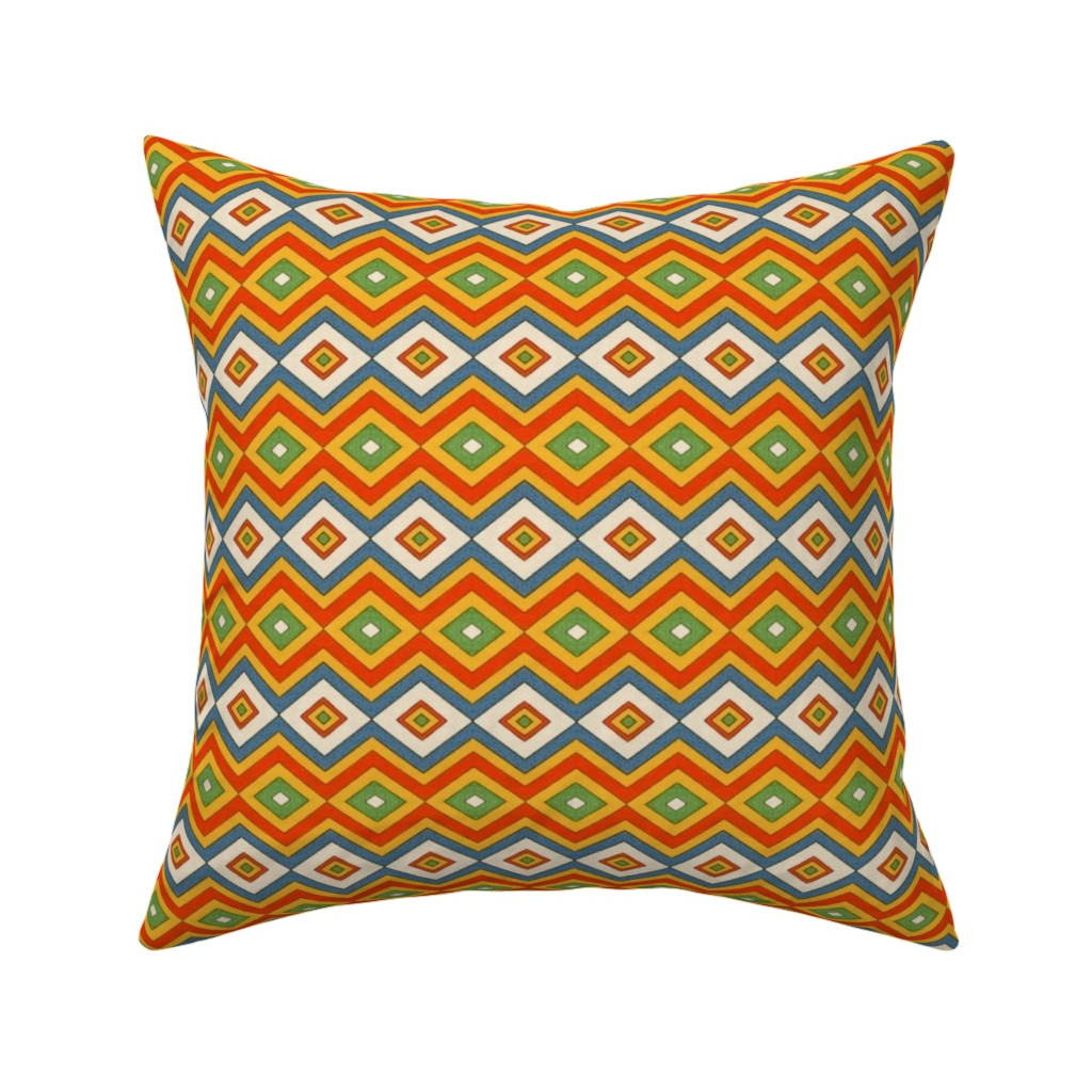 Catalan Throw Pillow featuring egyptian 87 by hypersphere